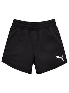 puma-girls-active-shorts-black
