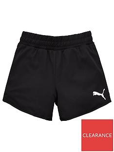 puma-girls-active-shorts-black