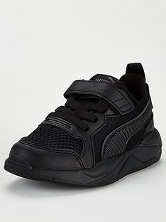 puma-x-ray-ac-childrens-trainers-black