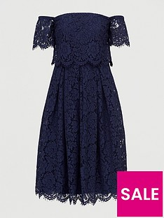 v-by-very-all-over-lace-bardot-prom-dress-navy