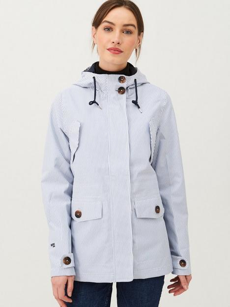 regatta-ninette-waterproof-jacket-blue-stripe