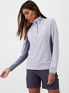 regatta-highton-half-zip-fleece-top-greynbsp