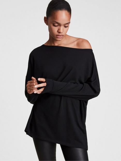 allsaints-rita-long-sleeve-top-black