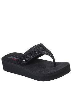 skechers-vinyasa-stone-candy-wedge-flip-flop-black