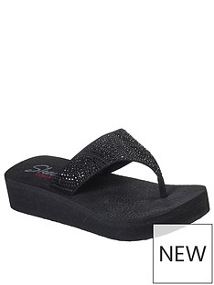 skechers-vinyasa-stone-candy-wedge-flip-flop-black
