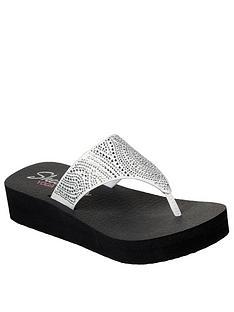 skechers-vinyasa-stone-candy-low-wedge-flip-flop-white