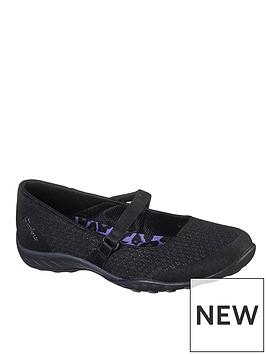 skechers-breathe-easy-ballerina-shoe-black