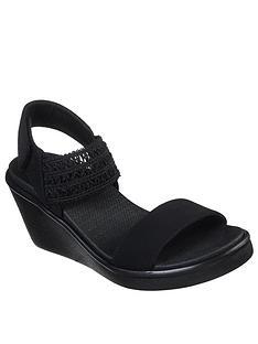 skechers-rumble-on-takeover-wedge-sandal-black