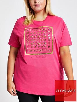 ri-plus-ri-plus-lamour-embellished-t-shirt-pink