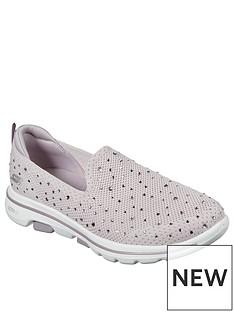 skechers-go-walk-5-limelight-slip-on-pump-pink
