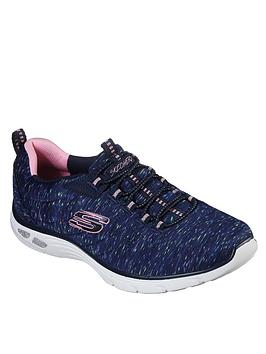 skechers-empire-dlux-sparkling-pops-trainer-navymulti