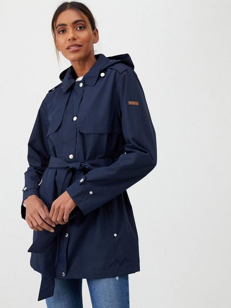 regatta-garbo-waterproof-trench-jacket-navy