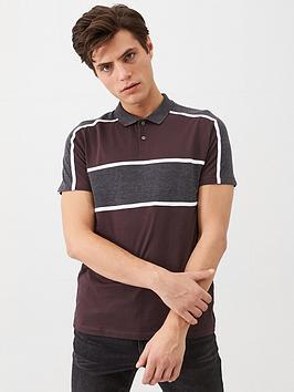 v-by-very-sport-panel-polo-shirt-burgundy