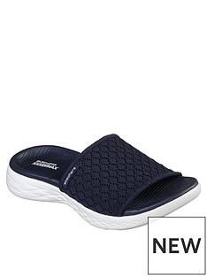skechers-on-the-go-600-stellar-sandal-navywhite