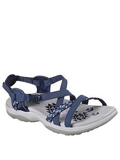 skechers-reggae-slim-vacay-flat-sandal-navy