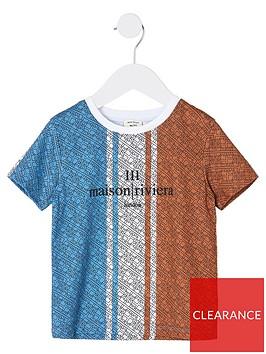 river-island-mini-boys-maison-riviera-tshirt-bluered