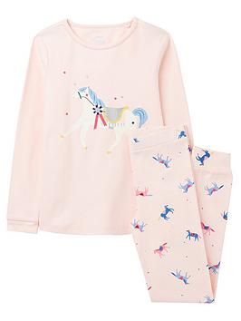 joules-girls-sleepwell-horse-pyjama-set-pink