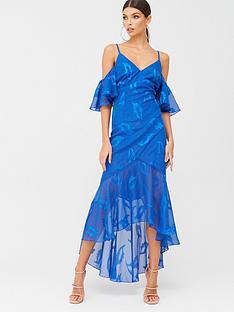 little-mistress-maxi-applique-chiffon-dress-blue