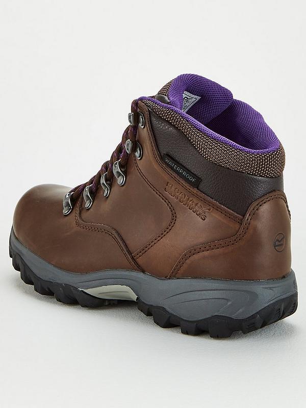 regatta brown womens bainsford walking boots