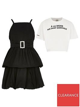 river-island-girls-2-in-1-belted-prom-dress-blackwhite