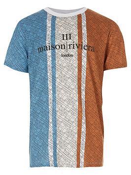 river-island-boys-blocked-maison-riviera-t-shirt