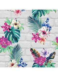 accessorize-camden-brick-floral-wallpaper
