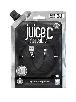 juice-type-c-1m-black