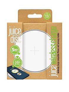 juice-disc-5w-wireless-charger-white