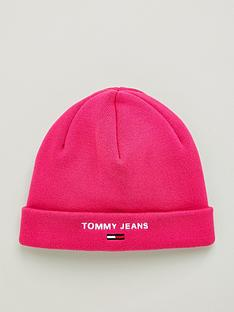 tommy-jeans-sport-beanie-hat-pink