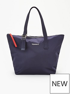 tommy-hilfiger-nylon-tote-bag-navy