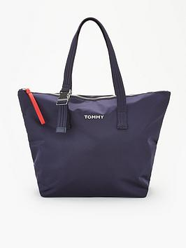 tommy-hilfiger-nylon-tote-bag-navy