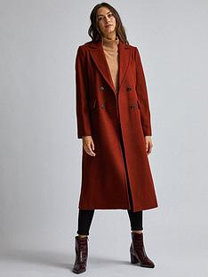 dorothy-perkins-tobacco-coat-brown