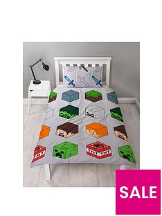 minecraft-nbsppixel-duvet-cover-set
