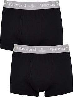 vivienne-westwood-mensnbsp2-pack-boxer-shortsnbsp--black