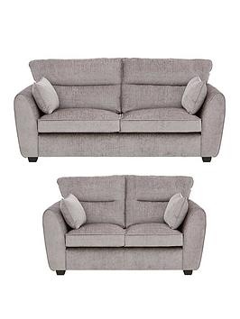Tamora Fabric 3 Seater + 2 Seater Sofa Set (Buy And Save!)