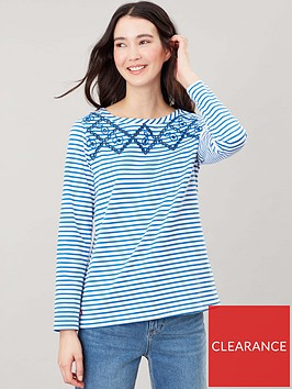 joules-harbour-luxe-top-stripe