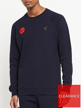 vivienne-westwood-anglomania-classic-orb-time-to-act-sweatshirt--nbspnavy