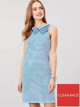 joules-riva-sleeveless-jersey-print-dress-whiteblue