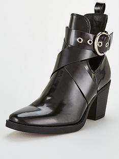 v-by-very-cut-out-buckle-ankle-boot