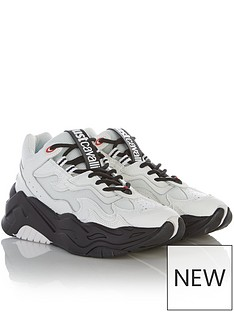 just-cavalli-chunky-sole-trainers-white