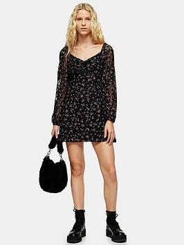 topshop-topshop-floral-lace-gypsy-mini-dress-black