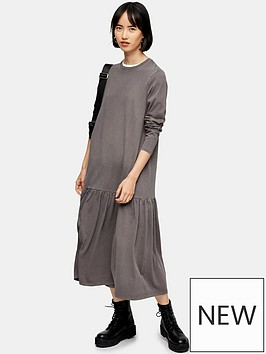 topshop-acid-wash-drop-waist-midi-dress-washed-black