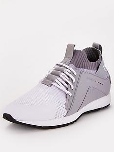 hugo-knit-sock-runner-trainers-grey