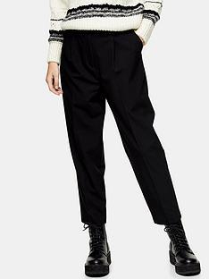 topshop-klara-trousersnbsp--black