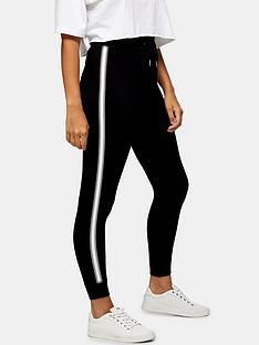 topshop-topshop-petite-joggers-black