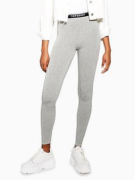 topshop-topshop-elastic-leggings-grey