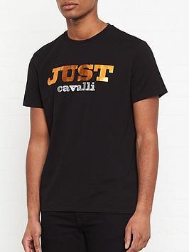just-cavalli-metallic-logo-print-t-shirt-blacknbsp