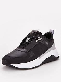 hugo-atom-runner-trainers-black