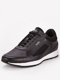 hugo-hybrid-runner-trainers-black
