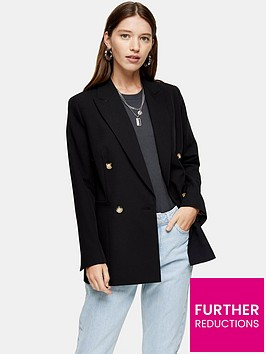 topshop-klara-blazer-black